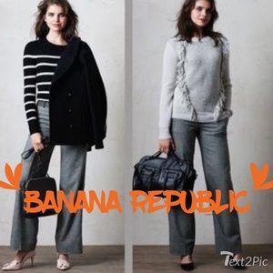 Banana Republic Pants - Banana republic tweed pants us 2L