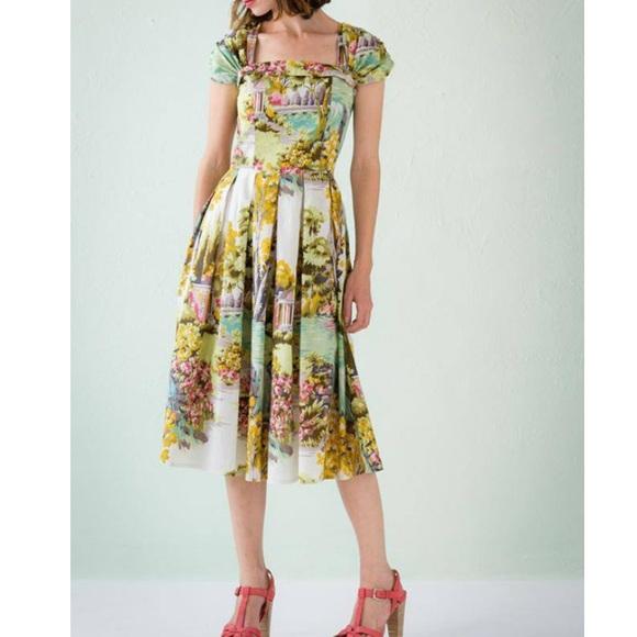 15d627fa29367 ModCloth Dresses   Nwot Lazybones Laura Dress Arcadia Print   Poshmark