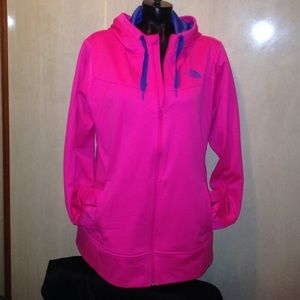 North Face Jackets & Blazers - NORTH FACE  ZIP HOODIE WITH THUMB HOLES SZ XL