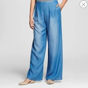 bp Pants - BP Wide Leg Denim Trousers