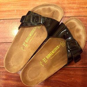 Birkenstock Shoes - Black Madrid Birkenstocks