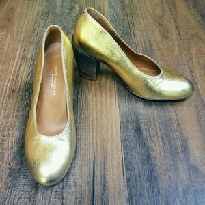 Dries Van Noten Shoes - Dries Van Noten Gold Ombre Heel