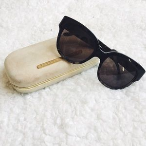 {stella mccartney} 🌿 grey tortoiseshell sunnies