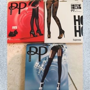 House of Holland Accessories - Lot of 3 Pretty Polly Tights