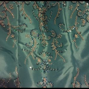 Night Moves Dresses & Skirts - Needs to go! Beautiful turquoise prom dress