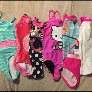 4-5T bathing suits