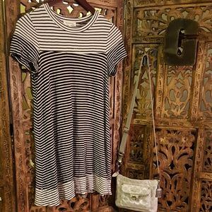 Monteau Tops - Striped Tunic