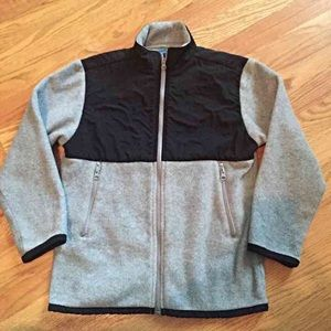 Other - Youth, gray and black fleece jacket. 7x