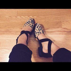 Kelsi Dagger Cheetah flats