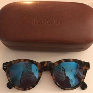 Illesteva Accessories - Illesteva blue mirror sunglasses