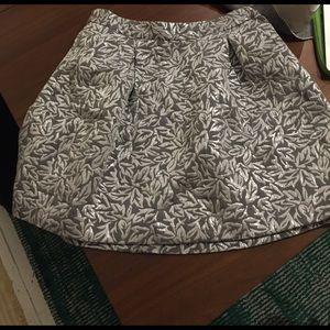 Behnaz Sarafpour Dresses & Skirts - Metallic Brocade skirt Behnaz Sarafpour for Target