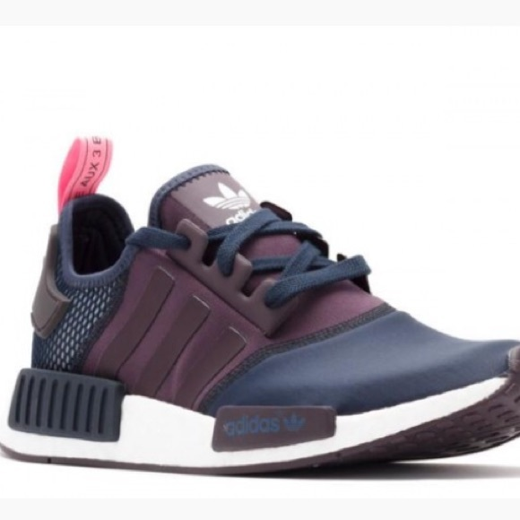NMD R1 sale W Midnight Navy Purple promotion Sneakers