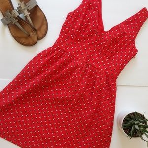 Jack Wills Dresses & Skirts - Jack Wills Red Sleeveless Dress Size 2