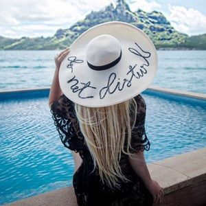 Twilight Gypsy Collective Accessories - Do Not Disturb Floppy Hats