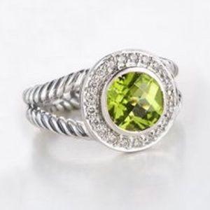 David Yurman Jewelry - Peridot Ring