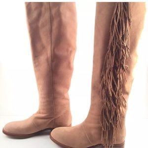 Sam Edelman Shoes - Sam Edelman Camel suede fringe boots