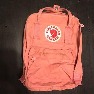 Fjallraven Handbags - Pink Fjallraven Mini Backpack