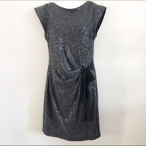 Taylor Dresses & Skirts - Taylor charcoal gray sequin dress