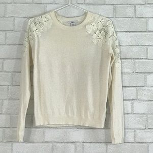 Bar III Sweaters - lace Spring Sweater