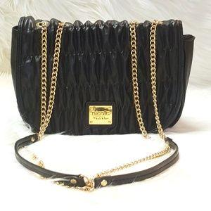 Nicole by Nicole Miller Handbags - NICOLE by Nicole Miller Ruched shoulder bag