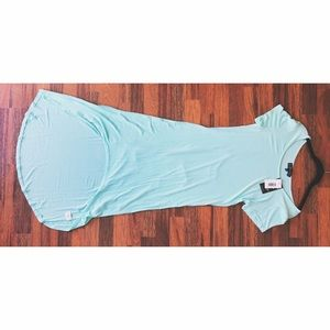 L.A. Gear Dresses & Skirts - L.A + Joe boutique high lo turquoise dress.