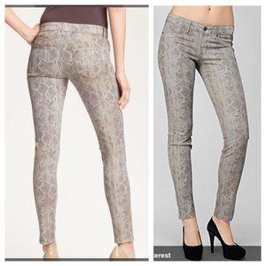 Rich & Skinny Pants - Rich & skinny Python print skinny