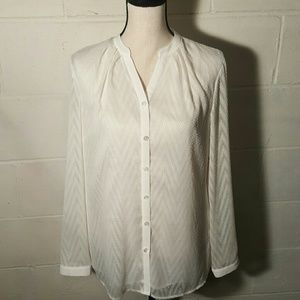 Coldwater Creek Tops - NWT Coldwater Creek Sheer Blouse