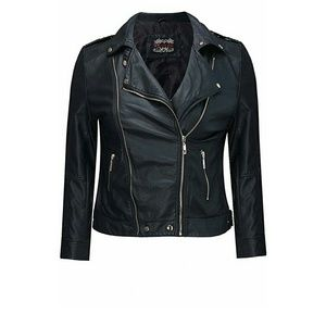 Yours Clothing Jackets & Blazers - Plus size biker jacket  Never Worn