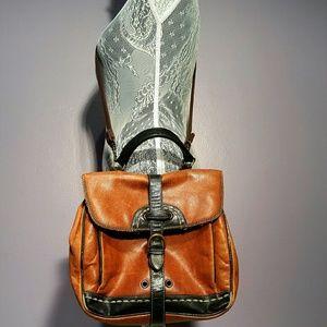 Francesco Biasia Handbags - Francesco BIASIA genuine leather crossbody bag