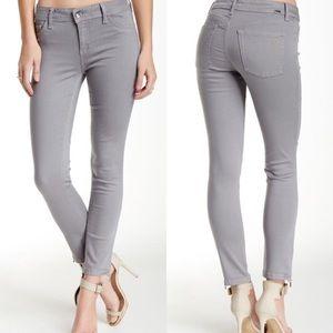 DL1961 Denim - DL1961 NWOT Florence Crop Zip Ankle Gray Jean
