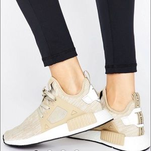 Adidas Other - New Adidas NMD Beige Linen