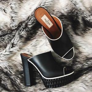 Valentino Shoes - Valentino Baracoa Chunky Mules