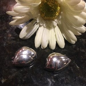 Christian Dior Jewelry - Christian Dior sterling silver clip earrings