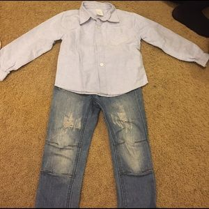 Shirt and jeans 5T
