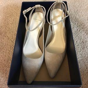 Cole Haan Shoes - Cole Haan Suede Heels size 5