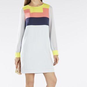 BCBGMaxAzria Dresses & Skirts - BCBGMAXAZRIA Cally Color-Blocked Tunic Dress