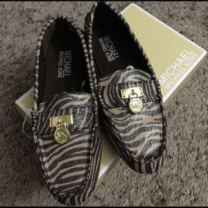 MICHAEL Michael Kors Shoes - Michael Michael Kors Zebra Zoey Loafers