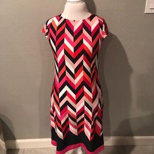 Dress Barn Dresses & Skirts - Signature Geometric Dress