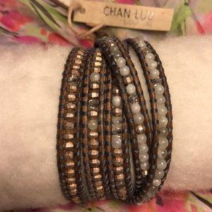 Chan Luu Jewelry - Chan Luu White Onyx Mix beaded wrap