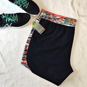 tek gear Pants - Tek Gear Navy Blue Mid-Rise Athletic Shorts