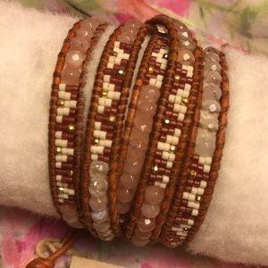 Chan Luu Jewelry - Beaded mix Chan Luu Wrap Bracelet