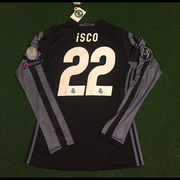 9a46c73dc ISCO Real Madrid Champions League Soccer Jersey