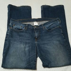 Lucky Brand Denim - Lucky Brand Dungarees Low Rise Flare Jeans Size 12