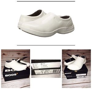 Bogs Shoes - BOGS Sz 8 Ramsey White Patent Work Shoes
