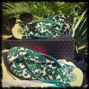 Tory Burch Shoes - 🏖HOST PICK4/9🏝Tory Burch🍃Wedge Flip-Flop