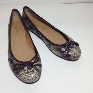 Franco Sarto Shoes - Franco Sarto Zapp Animal Print/Brown Ballet Flats