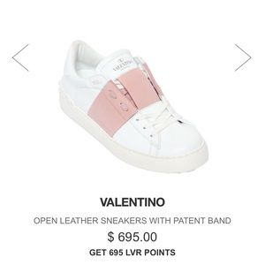 Valentino Shoes - Valentino Sneakers pink and white