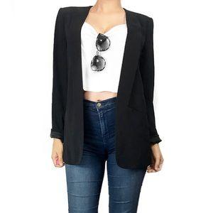 Theory Jackets & Blazers - Theory black wool blazer