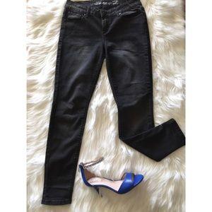 Seven7 Denim - Seven 7 Black Stretchy Skinny Fit Jean Leggings 4
