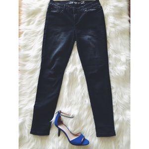 Seven 7 Black Stretchy Skinny Fit Jean Leggings 4